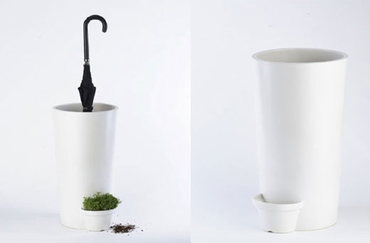 Umbrella Holder & Plant Pot in One