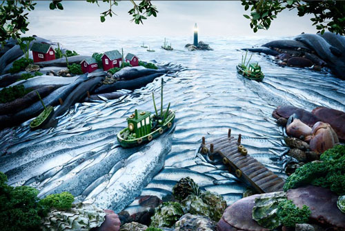 Fascinating Scape Work from Carl Warner