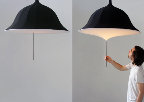 the Etirement lamp - lamp with dimmer