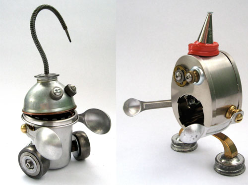 Adorable Adoptabots Sculptures From Brian Marshall