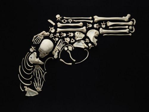 Incredible Art Made From Real Human Bones
