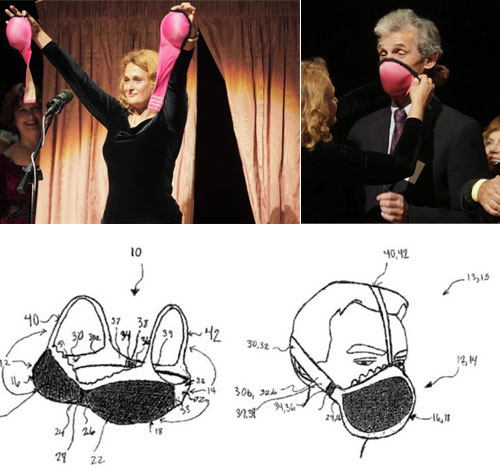 Gas Mask Bras Wins Ig Nobel Prize