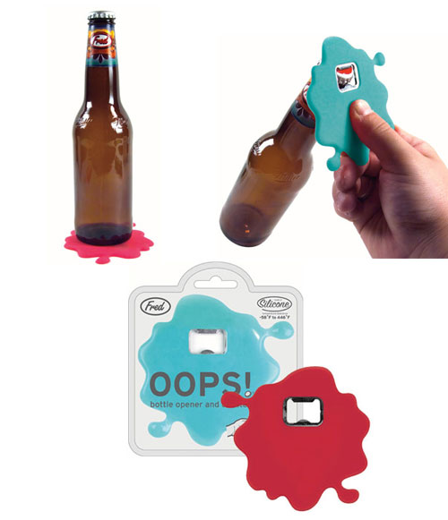 OOPS! Bottle Opener & Coaster