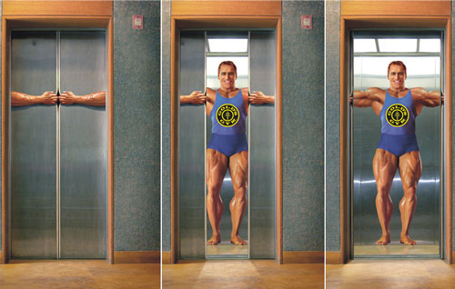 Gold's Gym: Elevator