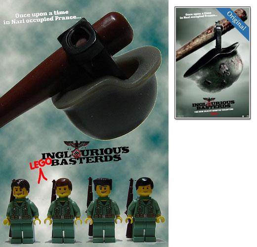 17 creative lego poster