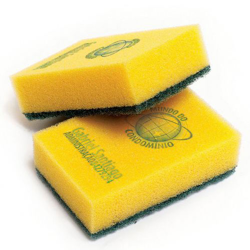 Mundo do Condomínio cleaning products: Sponge card