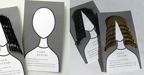 Business Card for Hair Artist