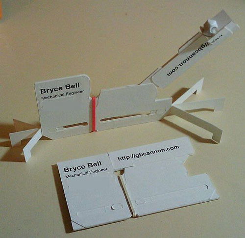 Business Card Transformer