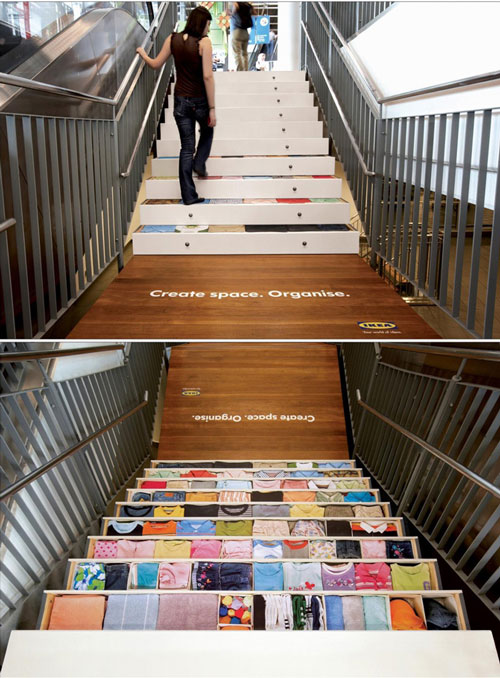 IKEA Stairs Advertisement