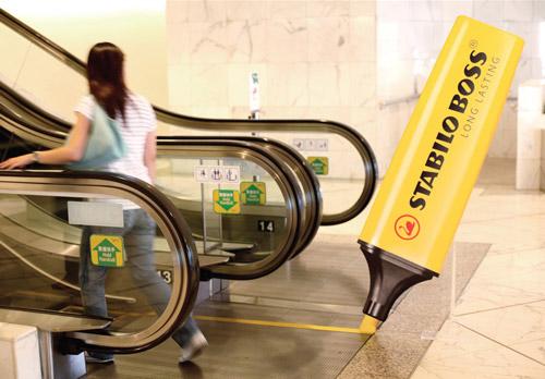 Stabilo: Non-stop Escalator