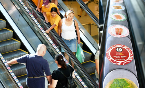 Sushi Roll: Sushi train