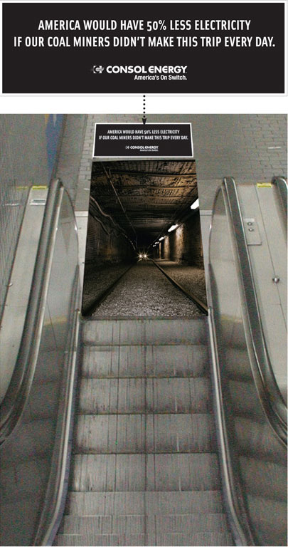 Consol Energy: Coal Flag, Escalator