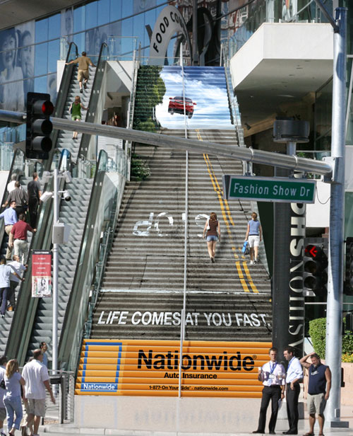 Nationwide: Stairs