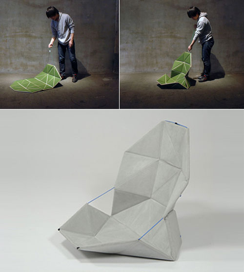 'pata' - an unconventional folding chair
