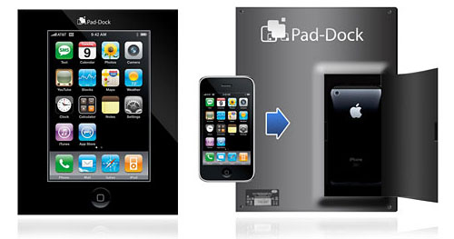 Pad-Dock iPhone to Tablet Converter