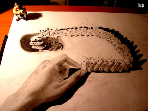 Awesome 3D Pencil Art