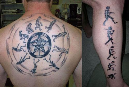 15 Weirdest Geeky Tattoo