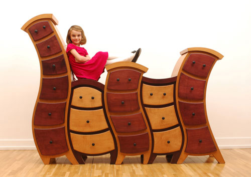 Interesting cartoon furniture from straight line design for Muebles originales