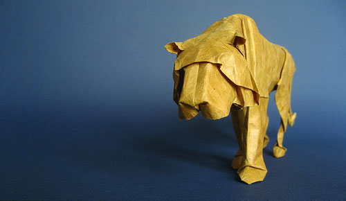 Realistic Animal Origami From Sipho Mabona