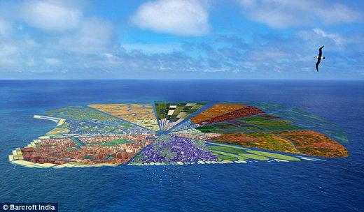 Plastic Paradise, Island made of Plastic Waste