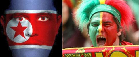Happy Soccer Fan, Beautifully Face Painting