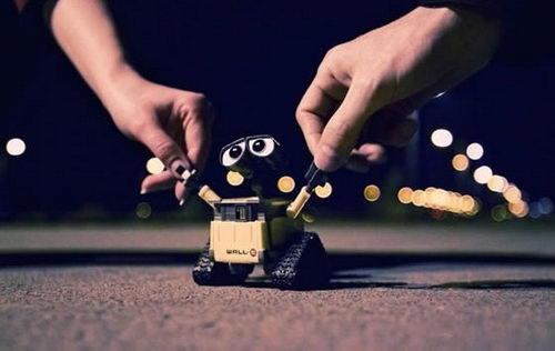 When Wall-E meet Danboard