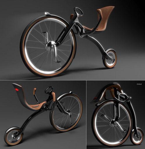 Leisure folding bike - 80s Inspired Cruiser