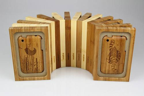 Beautiful Bamboo Case for iPhone 4g