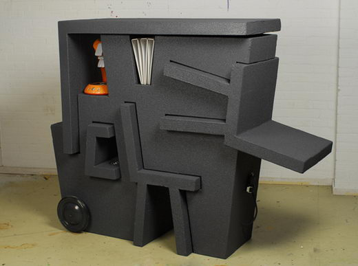 Portable Office made from EPS Foam