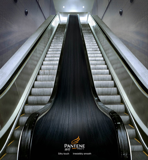 Pantene: Escalator