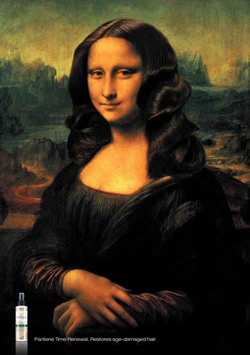 Pantene Time Renewal: Mona Lisa
