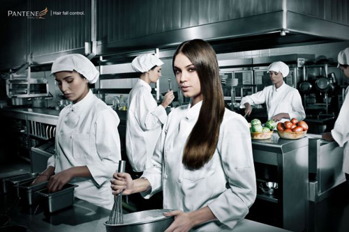 Pantene: Kitchen - Pantene Hair fall control