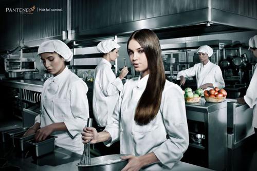 Pantene: Kitchen - Pantene Hair fall control