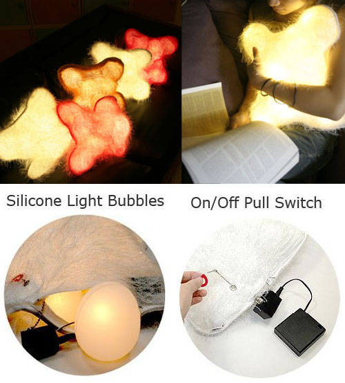 Glowing Pillow – d°light Huggable