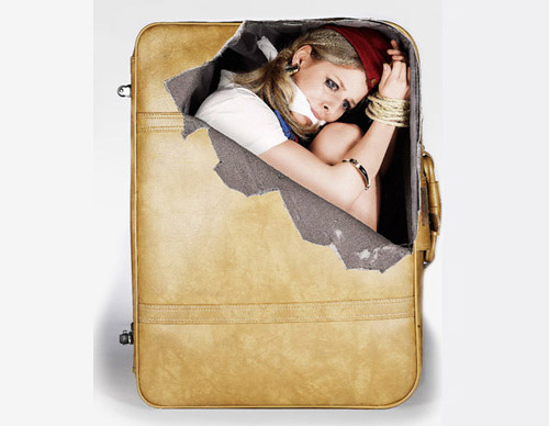 Suitcase Stickers, Creative or Crazy?