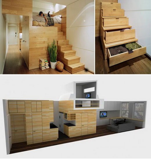 Economic Design: Small Apartment with full functionality