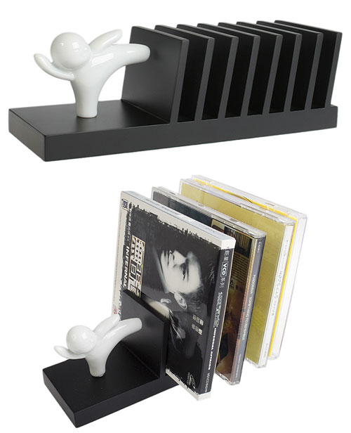 18 Modern and Stylish CD/DVD Rack and Holder Designs