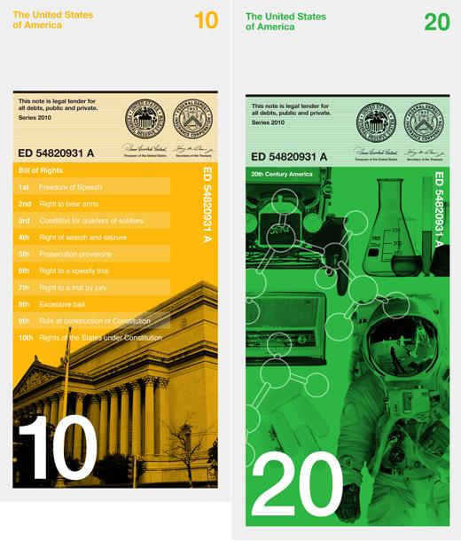 Interesting Redesign of US Dollar