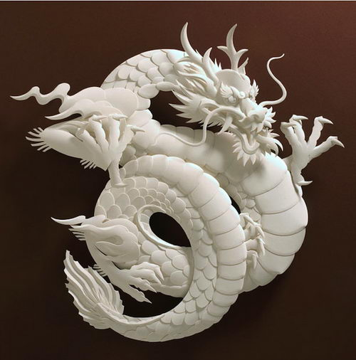Amazing d paper sculpture by jeff nishinaka design swan