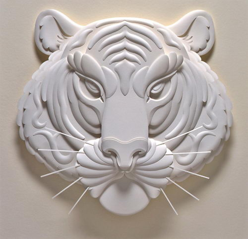 Amazing 3D Paper Sculpture by Jeff Nishinaka