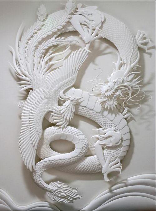 Amazing 3D Paper Sculpture by Jeff Nishinaka