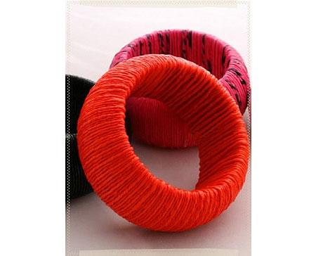 Recycled Plastic Bag Bangles