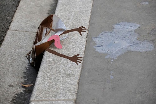 Funny and Creative Street Art from Sandrine Estrade Ball