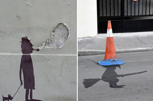 Funny and Creative Street Art from Sandrine Estrade Ball