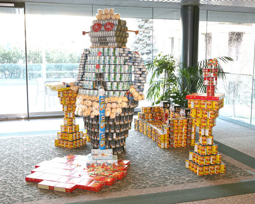 19 Geek Inspired Can Sculptures