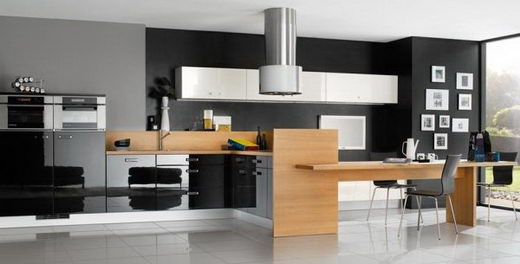 10 Modern and Colorful Kitchen Designs
