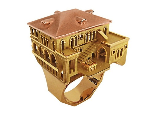 Incredible Detailed Architecture on a Ring Venice