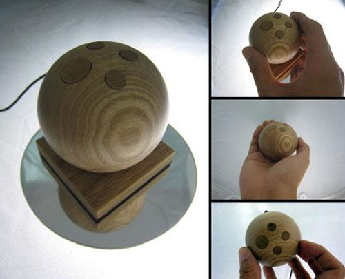 Jupiter Mouse - Wooden Computer Mouse