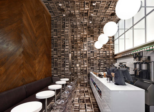Amazing Library Inspired Café Design