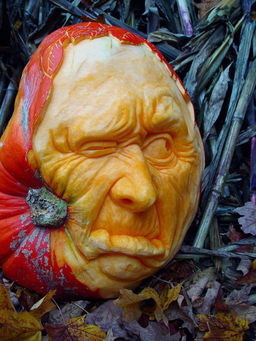 Most Amazing Pumpkin Carvings from Ray Villafane